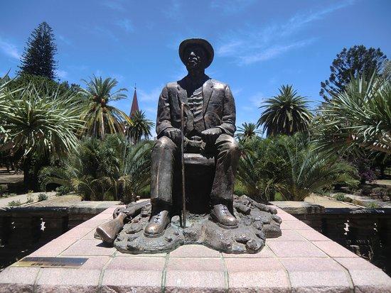 Windhoek, Namibia: Bronzestatue