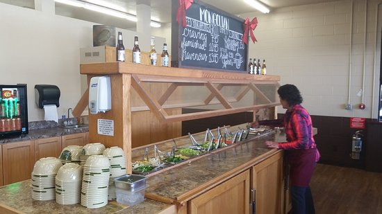 Emmett, ID: Jeanette Hobson keeps her restaurant well-stocked and clean!