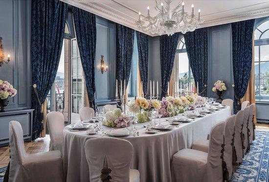 Four Seasons Hotel des Bergues Geneva : Salon Petit Mont Blanc