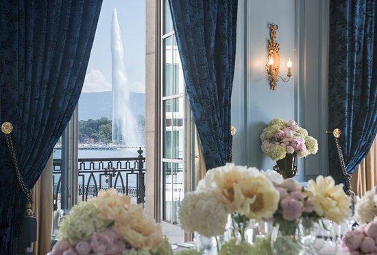 Four Seasons Hotel des Bergues Geneva : Salon Petit Mont Blanc - Detail