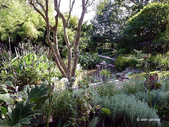 Zen picture of jardin interieur a ciel ouvert athis de l 39 orne tripadvisor - Jardin contemporain athis de l orne nantes ...