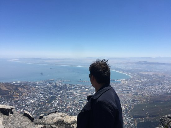 Kommetjie, Afrika Selatan: View from Table Mountain