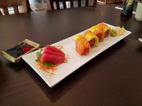 Union, NJ: Order of maguro and an 8-piece Autumn Roll