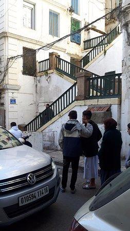 Algier Kasbah: stairs