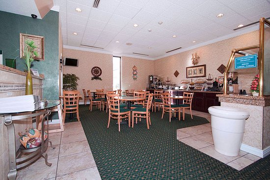 A continental breakfast is included with all rooms at the Ramada Provo Town Centre
