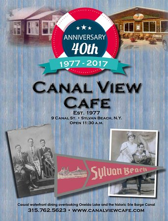 Sylvan Beach, Nova York: Celebrating our 40th Anniversary