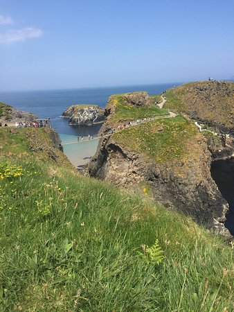 Ballintoy, UK: You need the weather to go here, but when the weather is nice its great.
