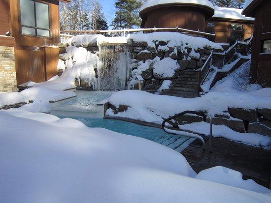 Morin Heights, Καναδάς: bain froid