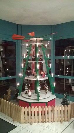 Pommernhotel Barth : sehr schöne Weihnachtspyramiede