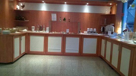 Pommernhotel Barth : der Frühstücksraum