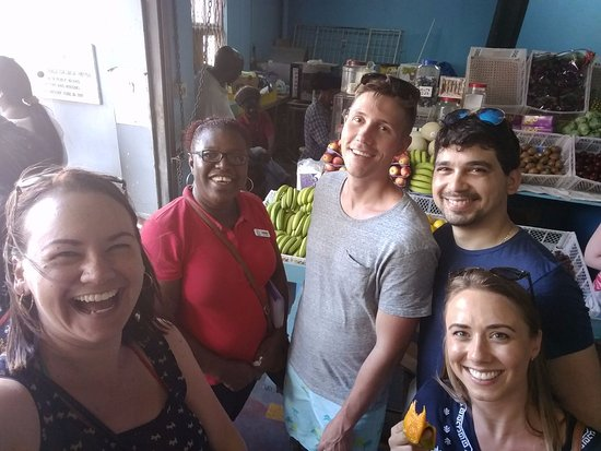 Christchurch, Barbados: Fun in the Market!
