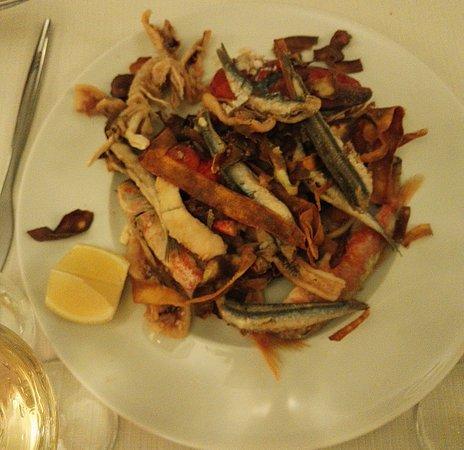 Vado Ligure, Italien: Il fritto!