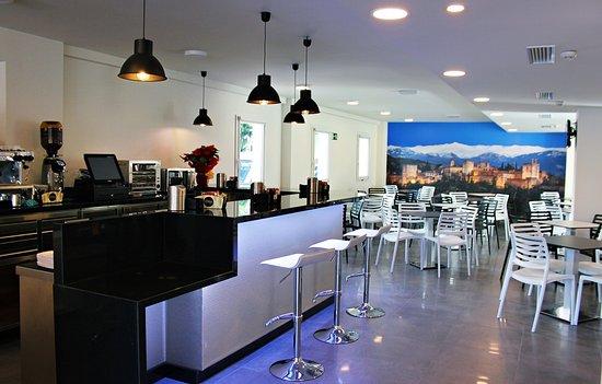Armilla, Spanyol: Cafeteria