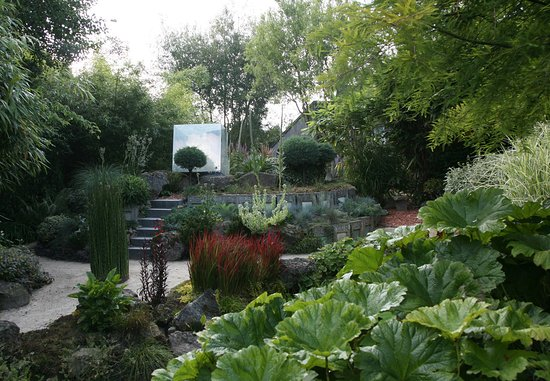 Jardin Interieur à Ciel Ouvert