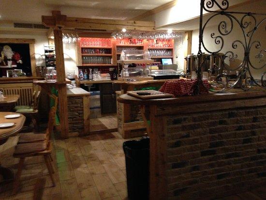 Muhlbach am Hochkonig, Austria: Pizzastube