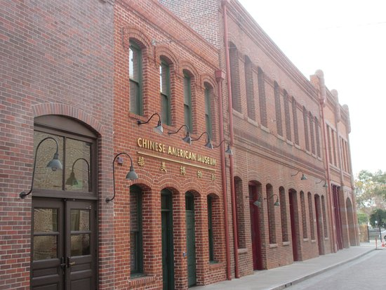 Pico House: Chinese American Museum is just around the corner