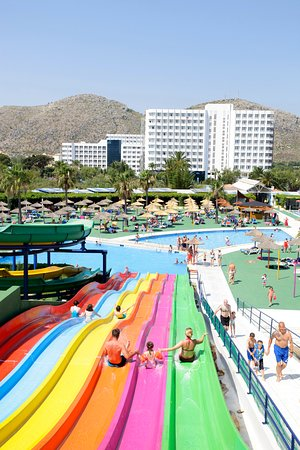 Club MAC Alcudia: Entrance to the local water park included in the price