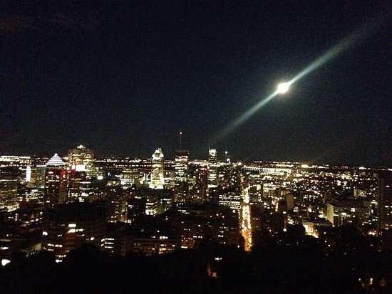 Full Moon Over Montreal