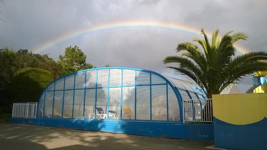 Plouharnel, Frankreich: magnifique arc en ciel