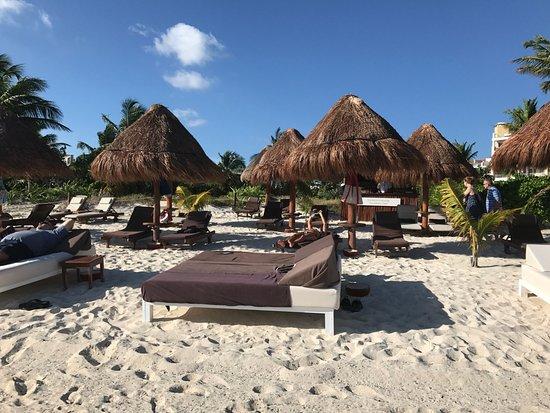 Excellence Playa Club Beach Area