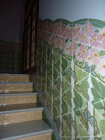 Mosaico pared - Picture of Institut Pere Mata, Reus - TripAdvisor