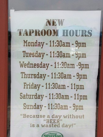 Silverton, OR: Hours