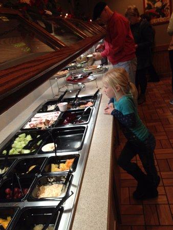 Carlisle, Pensilvanya: salad bar 1