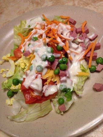 Carlisle, Pensilvanya: My wife's salad