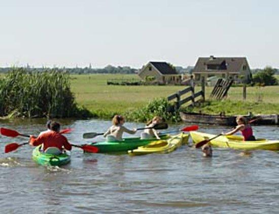 Leidschendam, Países Bajos: Ook voor het huren van een kano of kayak
