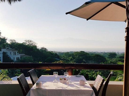La Cruz de Huanacaxtle, Meksyk: Breakfast View
