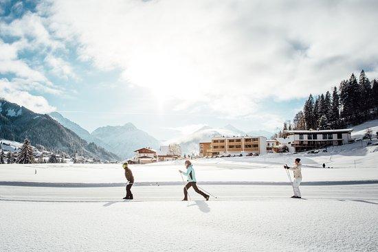 Riezlern, Østrig: direkt an der Schwendelopipe im Kleinwalsertal
