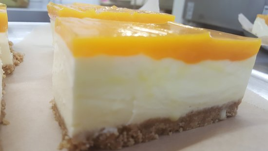 Granborough, UK: Cheesecake