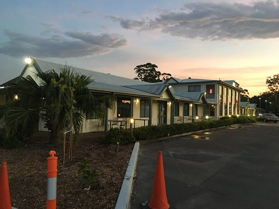 Raymond Terrace, Australia: Lovely outside appeal in the sunrise