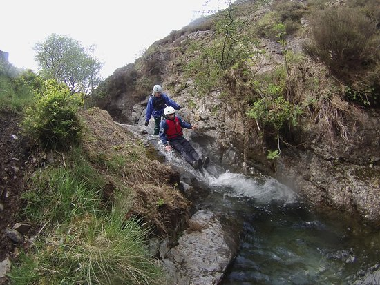 Buttermere, UK: We offer guided canyoning and ghyll scrambling.