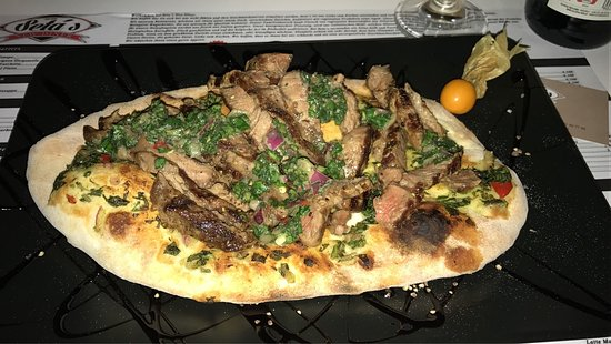 Uderns, Austria: Steak Bruschetta