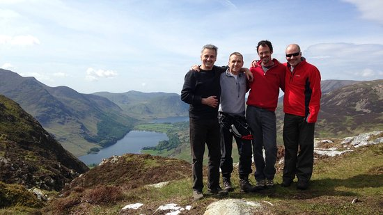 Buttermere, UK: We offer guided mountain walks.