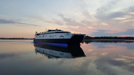 Yarmouth, Canada: The CAT Ferry