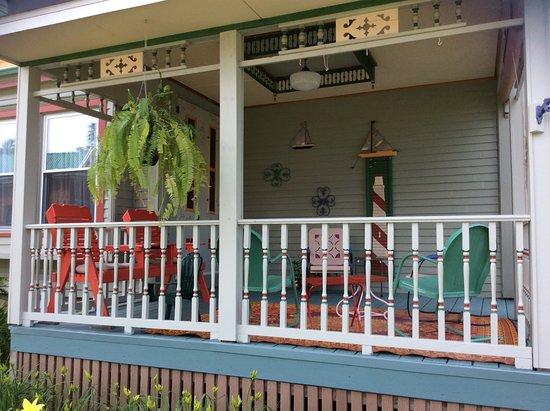 Sherburne, NY: Front Porch