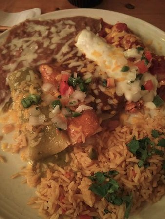 Rockwall, TX: Cinco Enchiladas.
