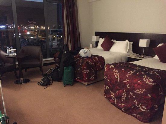 Cloghran, Ireland: huge beds for 3! big big room :)