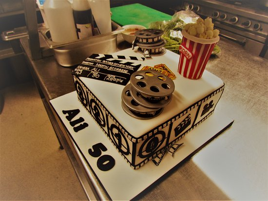 Fine Movie Birthday Cake Picture Of Al Gatto Nero Poole Tripadvisor Funny Birthday Cards Online Alyptdamsfinfo