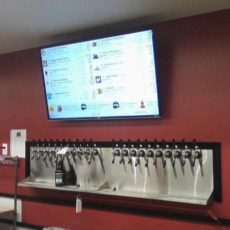 Grand Blanc, MI: New beer tap area (20)