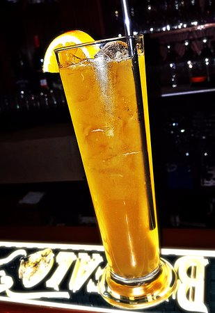 La Grange, KY: Bourbon Margarita.....Made with:  Bourbon + grand marnier + fresh orange juice + lime juice