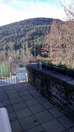 Hotel Rural Torre de Uriz: la terrasse privée avec vue