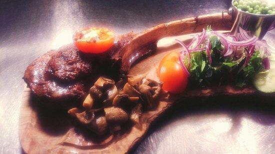Neath, UK: 30oz tomohawk steak