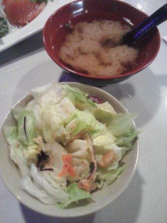 Flint, MI: Miso and Salad