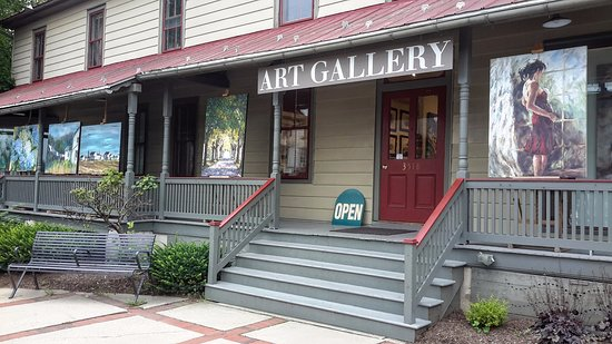 Intercourse, PA: The Front Door at Julia Swartz Art Gallery