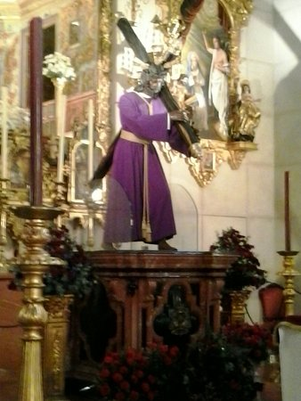 Cristo Fotografia De Santuario De Jesus De La Salud Sevilla