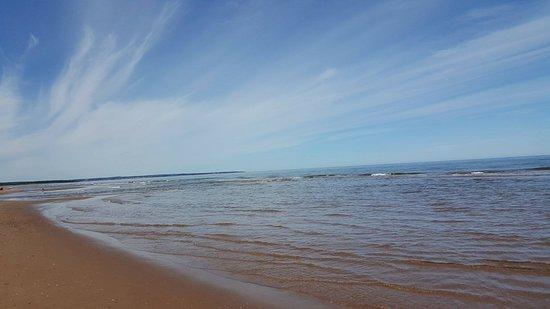 Charlottetown, Canadá: The beach