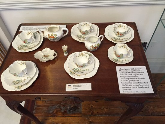 Waterford Coat Of Arms Tea Set Picture Of Bishop S